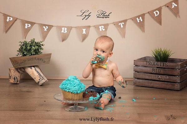 photo anniversaire bébé Hyères