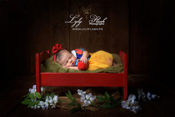 Photographe naissance bébé  décoratif