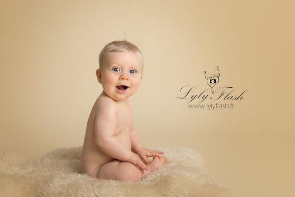 studio photo photgraphe bébé Draguignan