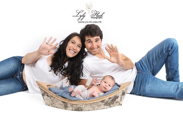 photographe nouveau-né  bébé Mons