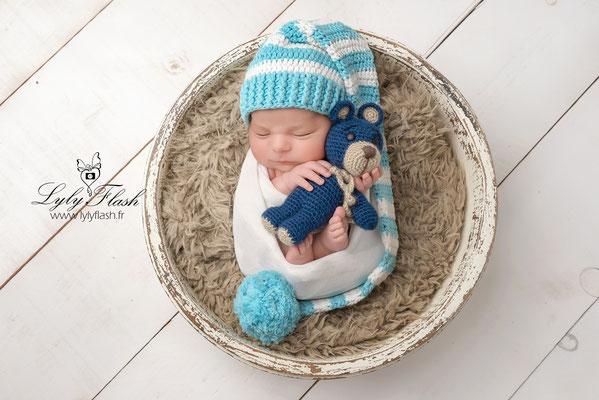 Photographe naissance bébé Solliès pont