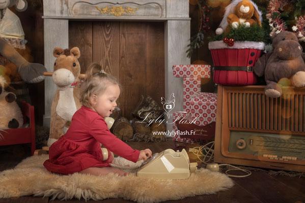 photographe de France bébé Noël