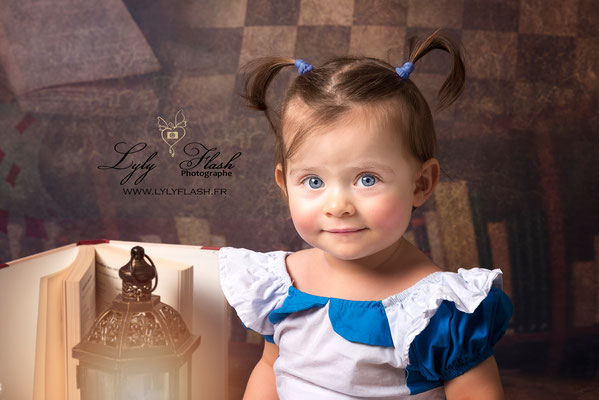 photographe bébé portrait d'art dans le var