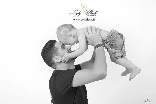 photo près et fils bébé par photographe de brignoles