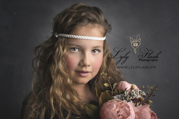 portrait photo enfant Toulon photographe studio