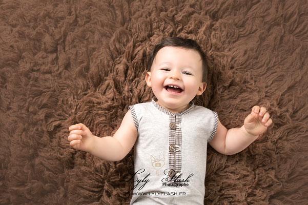 portrait de bébé près de toulon