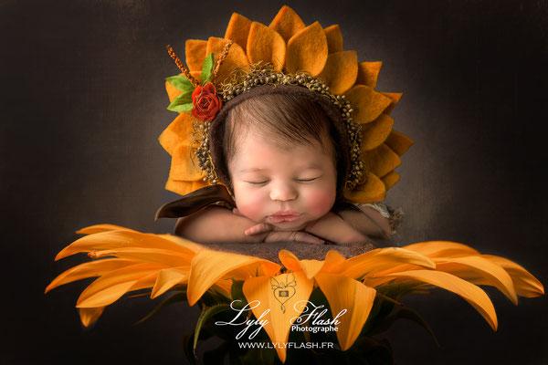 photographe d'art naissance bébé Toulon Manosque Aix en provence Draguignan fleur créative Anne Geddes