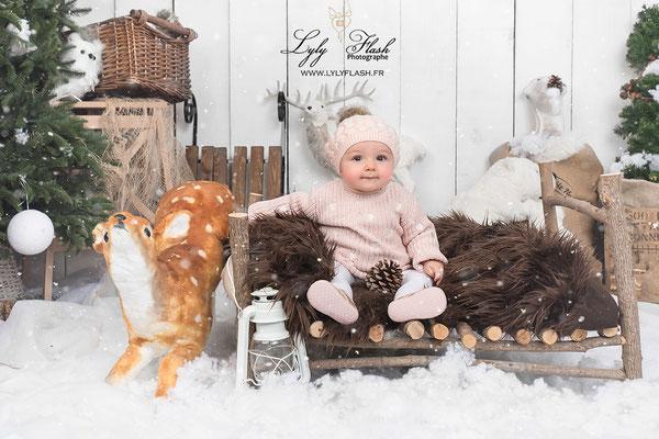 photo photographe bébé Flassans sur issole