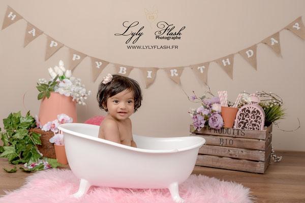 photographe pour anniversaire de bébé dans le var Hyères