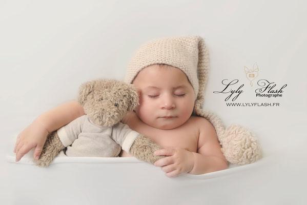 photographe bébé 4 mois studio photo