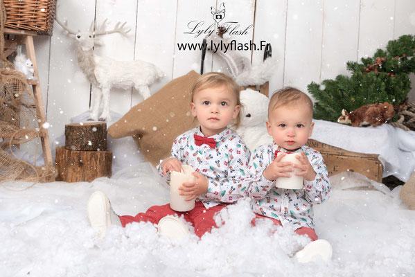 photo noël magique bébé enfant Toulon