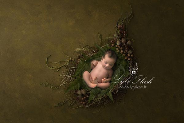 photographe d'art naissance bébé