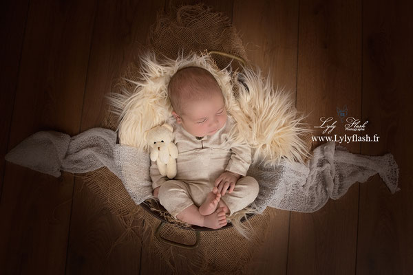photo de naissance set up newborn photographer