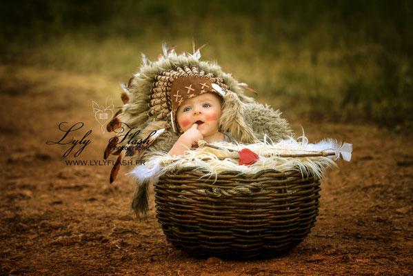 photographe original pour bébé à La garde dans le var