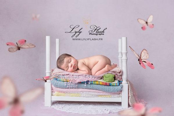 photographe nouveau-né Evenos