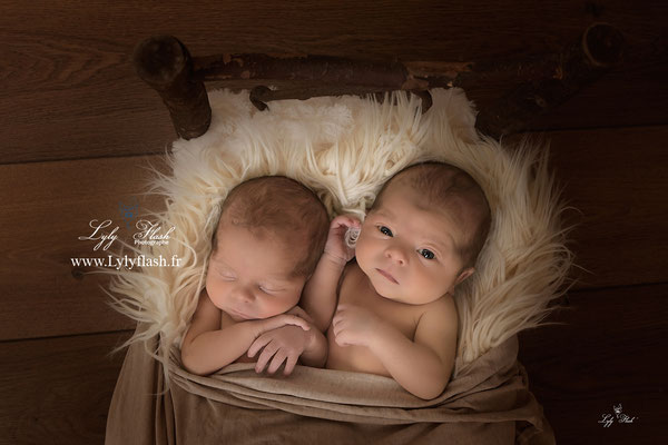 twin photographe bébé Marseille 13 photo studio Marseille jumeau