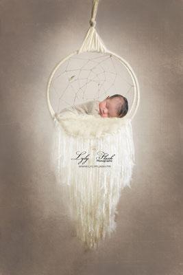 Photographe naissance bébé  attrape rêves