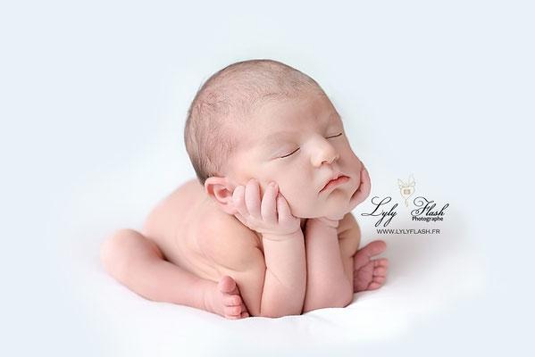 photographe newborn posinh froggy photo studio
