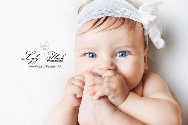 photographe pou rbébé de 9 a 12 mois a lorgues dans le var