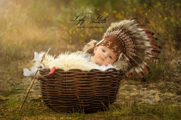 photographe original pour bébé à brignoles