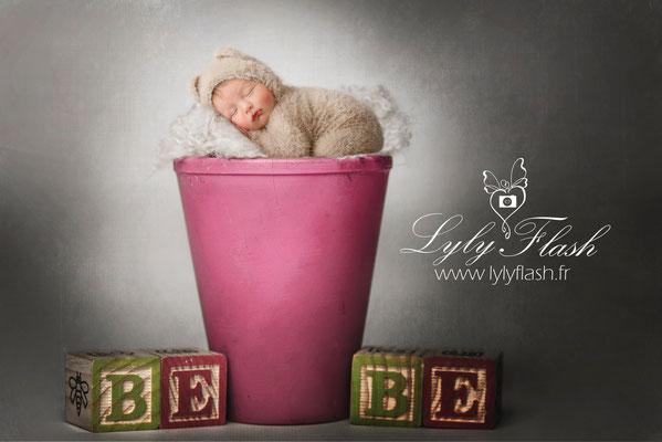 photographe nouveau-né  bébé Ollioules