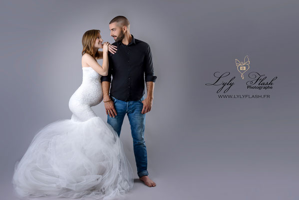 photographe grossesse studio photo