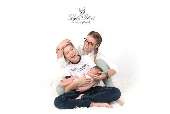 photographe nouveau-né  bébé saint zacharie