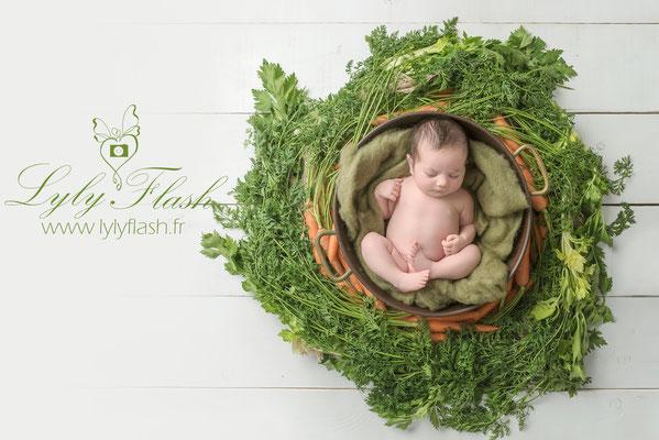 photographe nouveau-né  bébé Montauroux