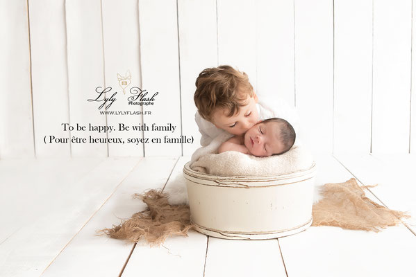 photographe naissance bébé et grand frère Monaco
