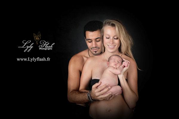 photo de naissance en famille brignoles