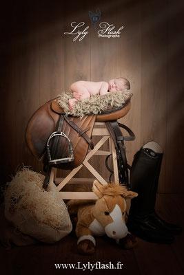 photographe naissance bébé passion photo équitation cheval