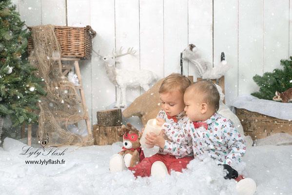 photographe de noël enfants Marseille