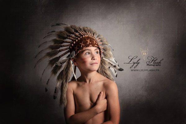 portrait d'enfant a monaco studio photo