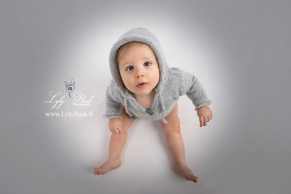 photographe bébé cagne sur mer