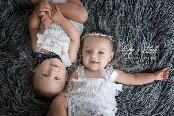 photographe bébé jumeaux draguignan