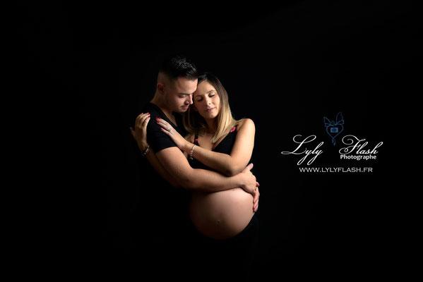 photographe studio de grossesse a nice