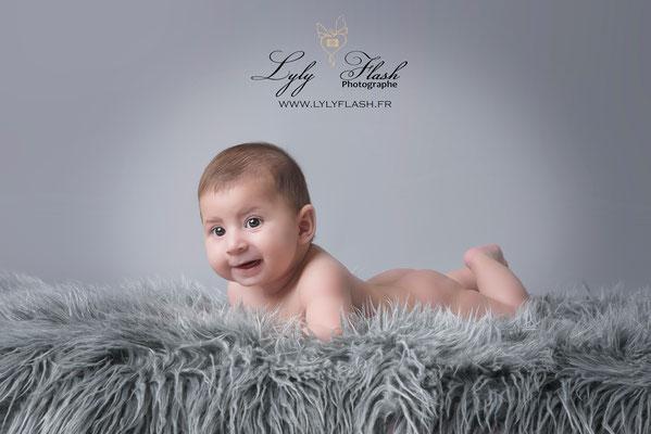photographe bébé 3 mois studio photo