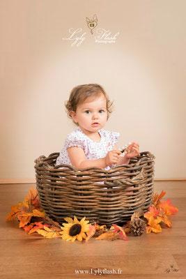 bébé d automne photo