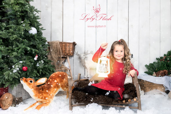 photographe noël studio photo Sanary