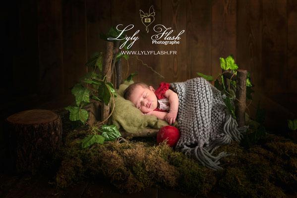 magie de noel un cadeau de naissance incroyable par une photographe de talent