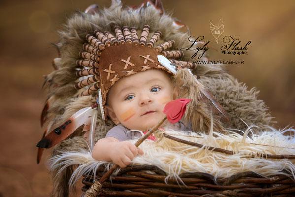 photographe photo portrait original pour bébé