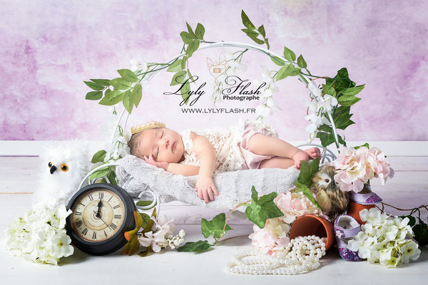 photographe naissance Besse sur issole