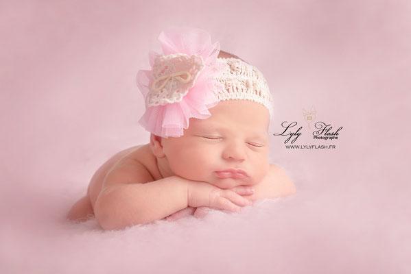 photographe naissance bébé fille Monaco