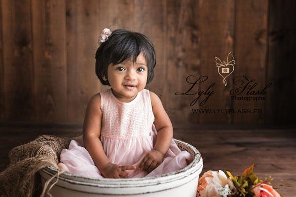 photographe bébé indienne de sanary