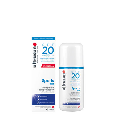 Ultrasun 20 Sports Gel - 200ml
