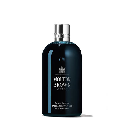 Molton Brown Russian Leather Bath & Shower Gel (300ml)