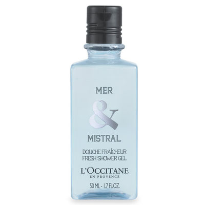 L'Occitane - Mer & Mistral Shower Gel 50ml