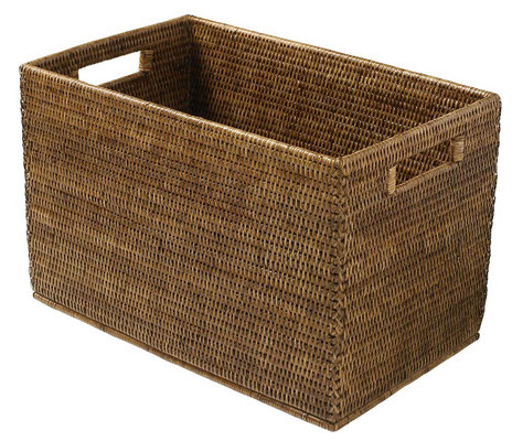 0202 Rattan  Rectangular Storage 40x27x25