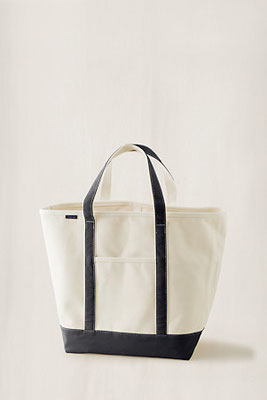 Canvas Tote Bags with various trim colours for the Beach