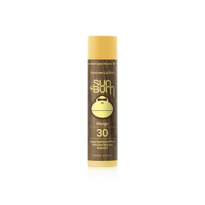 SunBum Original SPF 30 Sunscreen Lip Balm - Mango